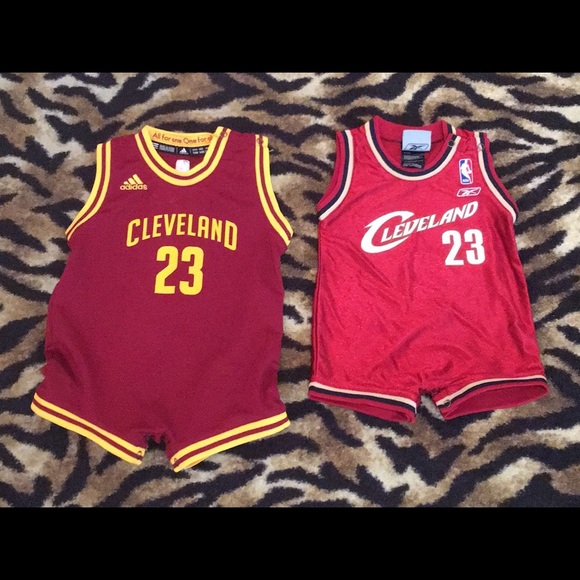 huge selection of 31322 2a615 2 LeBron James Baby Jerseys Cleveland Cavs 12M-24M